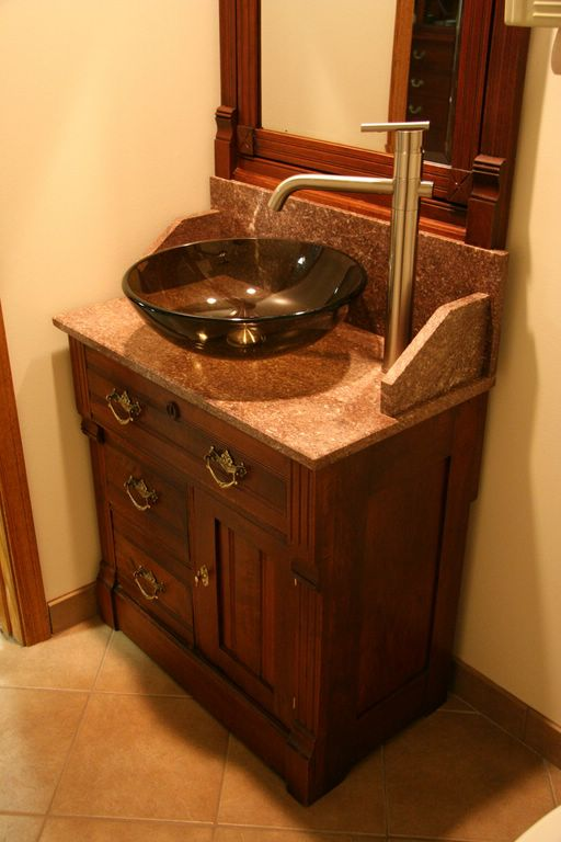Vessel Sinks Work With Antiques The Harp Gallery